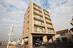 愛知県海部郡蟹江町大字今字二之坪の賃貸マンションの外観