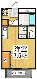 アビタシオン秋津[2階]の間取り