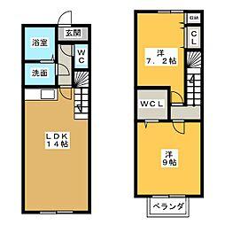 フルハウスIII[1階]の間取り