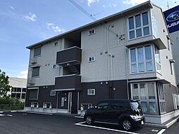 滋賀県草津市野路4丁目の賃貸アパートの外観