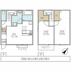 [一戸建] 茨城県つくば市学園南 の賃貸【/】の間取り