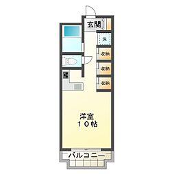 ラ・ターブル西神戸[4階]の間取り