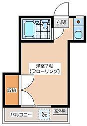 代田ハウス[203号室]の間取り