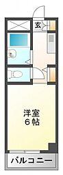 アパートメント・シバタ2[2階]の間取り