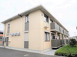 埼玉県春日部市備後西1の賃貸アパートの外観