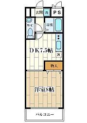T.Oコート花川[301号室]の間取り