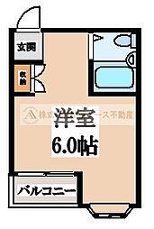 プチコーポK[2階]の間取り