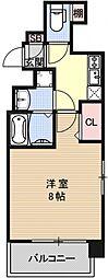 ベラジオ京都烏丸十条[301号室号室]の間取り