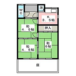[一戸建] 愛知県一宮市開明字馬保里 の賃貸【/】の間取り