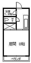 宮崎県宮崎市清武町岡1丁目の賃貸アパートの間取り