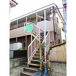 埼玉県草加市中央2丁目の賃貸アパートの外観