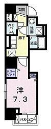 ベラ セラータ[7階]の間取り