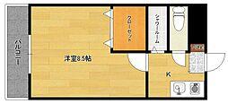 サンリッチMIYUKI[3階]の間取り