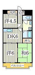 ネモト第三ビル[4階]の間取り