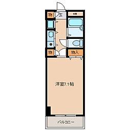 サンモール[12階]の間取り