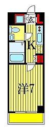 ルーラル五番館[8階]の間取り