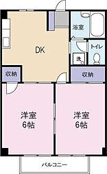 シティハイツ平塚[1階]の間取り