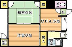 トキワビル5[1階]の間取り