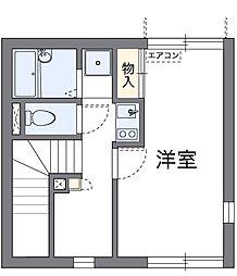 レオネクスト禅[2階]の間取り