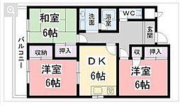 ノーザンライツIII[3階]の間取り