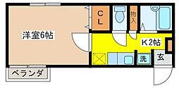 エクシブ吉祥寺[3階]の間取り