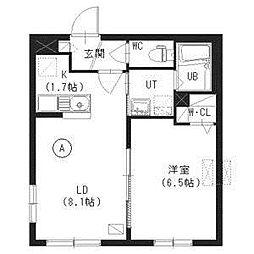 北海道札幌市白石区本通13丁目南の賃貸マンションの間取り