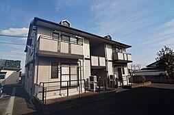 群馬県前橋市総社町植野の賃貸アパートの外観