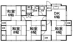 [一戸建] 栃木県宇都宮市宮の内2丁目 の賃貸【/】の間取り