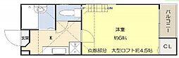 River Place Edogawa[101号室]の間取り
