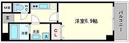 グランパシフィック本田[10階]の間取り