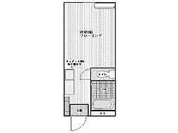 多摩セントラルビル[2階]の間取り