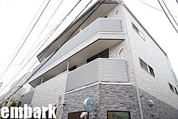 東京都渋谷区恵比寿2丁目の賃貸アパートの外観
