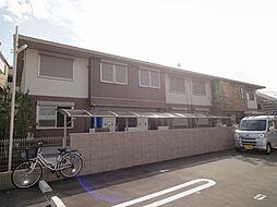 大阪府羽曳野市恵我之荘6丁目の賃貸アパートの外観