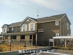 大阪府堺市東区高松の賃貸アパートの外観