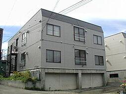 北海道札幌市白石区菊水元町四条1丁目の賃貸アパートの外観