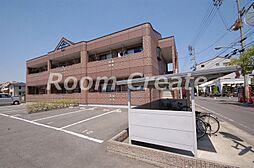 徳島県徳島市名東町1丁目の賃貸アパートの外観