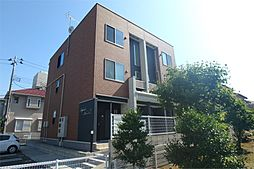 新潟県新潟市中央区紫竹山7丁目の賃貸アパートの外観