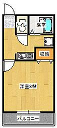 エクセレント・キムラ[1階]の間取り