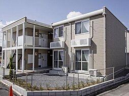 愛知県あま市篠田新割の賃貸アパートの外観