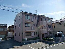 愛知県清須市西枇杷島町地領2丁目の賃貸マンションの外観
