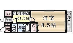 KYOマンション[107号室号室]の間取り