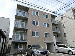 北海道札幌市豊平区美園五条6丁目の賃貸マンションの外観