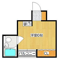 日邦ビル[2階]の間取り