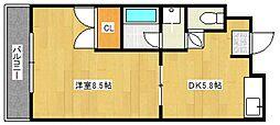 モンシェリ[2階]の間取り