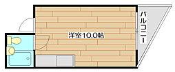 アンフィニィ富田[2階]の間取り
