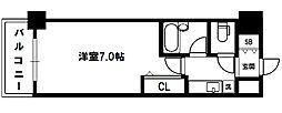 エスリード新大阪第7[2階]の間取り