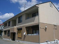 兵庫県宝塚市旭町3丁目の賃貸アパートの外観