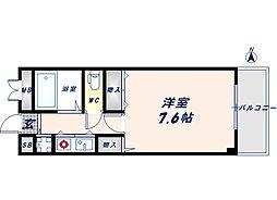 サンモール[4階]の間取り