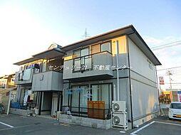 岡山県岡山市北区西市の賃貸アパートの外観