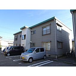 新潟県新潟市東区東明5丁目の賃貸アパートの外観